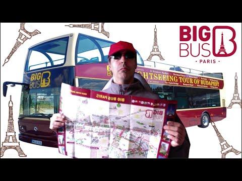 bus turistico de Paris. Big bus Paris. (MibauldeblogsTV)
