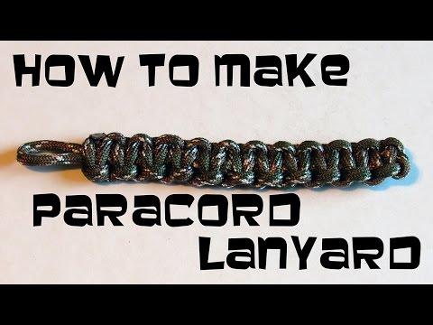 How make a paracord lanyard