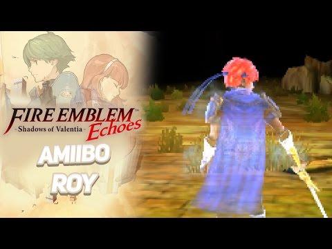 Fire Emblem Echoes: Shadows of Valentia ENGLISH - amiibo: Roy!