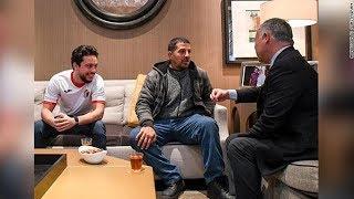 عامل نظافة يكشف كواليس لقائه ملك الأردن