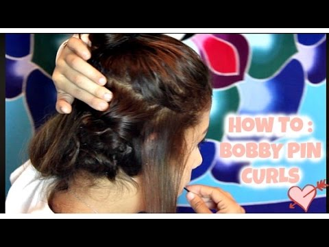 HOW TO: HEATLESS BOBBY PIN CURLS/WAVES!