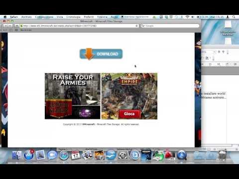 Come installare World Edit minecraft per Mac.