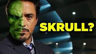 Avengers Theory! Iron Man Tony Stark SKRULL IN DISGUISE? #SkrullSearch