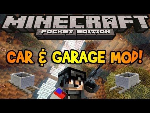 0.8.1 - Working Car and Garage Mod - Minecraft Pocket Edition