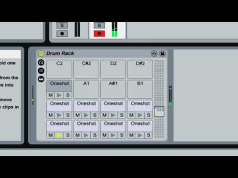 Ableton Live chopping samples manually into Drum Racks quickly