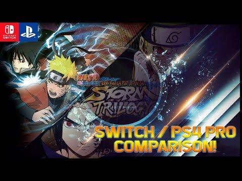 【Naruto Ultimate Ninja Storm Trilogy】Nintendo Switch / PS4 Pro Comparison