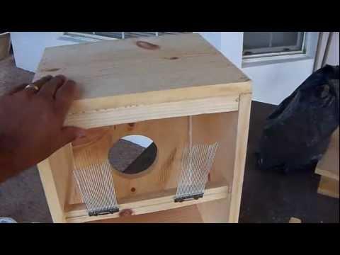 DIY Home made cajon drum