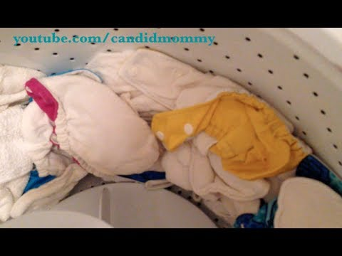 Simple Cloth Diaper Wash Routine (that works!!)