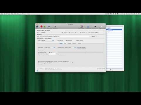Using HandBrake 0.9.6 to rip a DVD