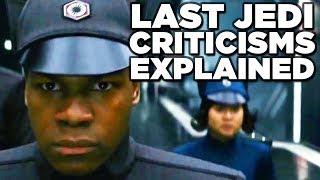Star Wars LAST JEDI Review - Why Are Fans Split? (Finn Subplot Explained!)