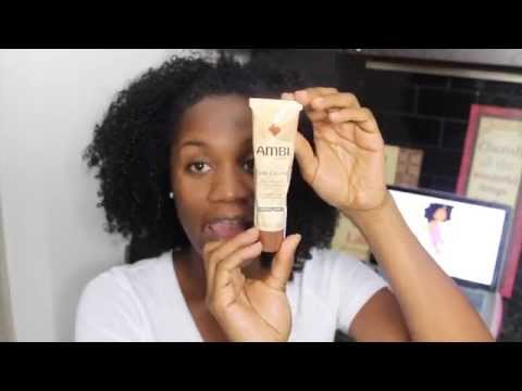Acne Series Skin Update! Fading dark acne spots with AMBI CREAM | EiffelCurls