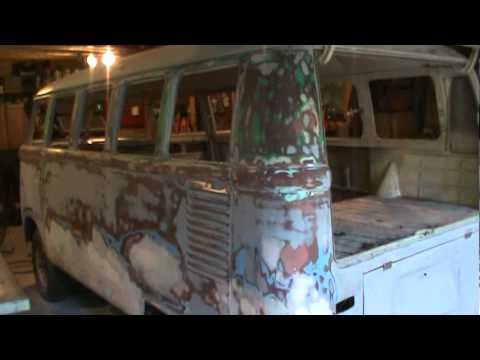 1967 vw bus body work