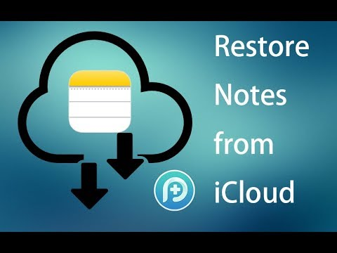Restore Lost Notes from iCloud - PhoneRescue