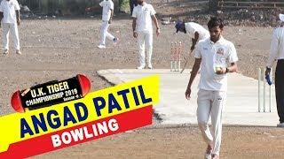 Angad Patil Bowling in UK Tiger Championship 2019, Ghatkopar, Mumbai