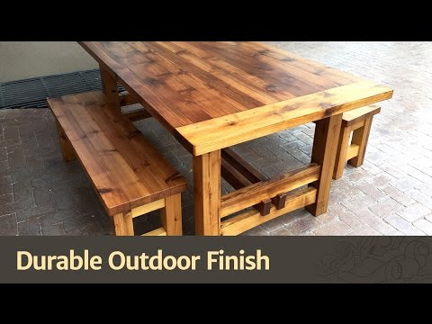 Durable Outdoor Finish