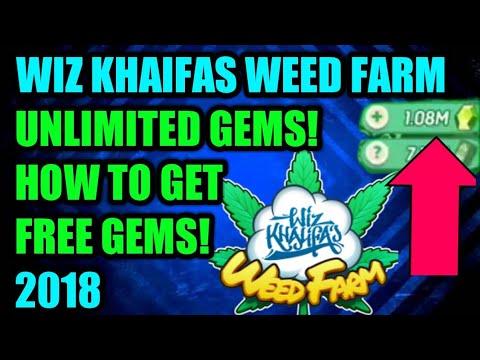 Wiz Khalifa's Weed farm. Gem glitch. Unlimited gems. How to get gems for free.