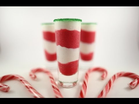 Strawberries and Cream Christmas Shooters