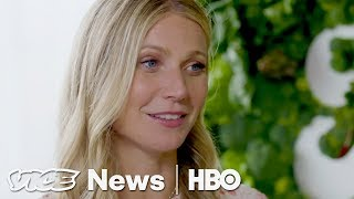 Download Gwyneth Paltrow's GOOP Wellness Summit Included Crystal Therapy and Aura Readings (HBO) Video