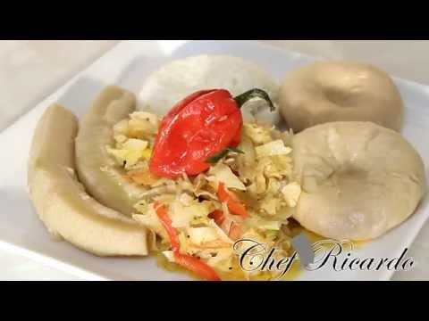 Salt Fish & Cabbage With Dumpling & Banana | Recipes By Chef Ricardo