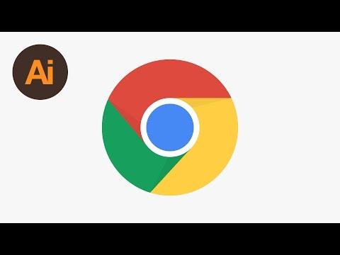 Design the Chrome Logo Illustrator Tutorial