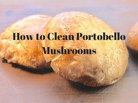 How to Clean Portobello Mushrooms