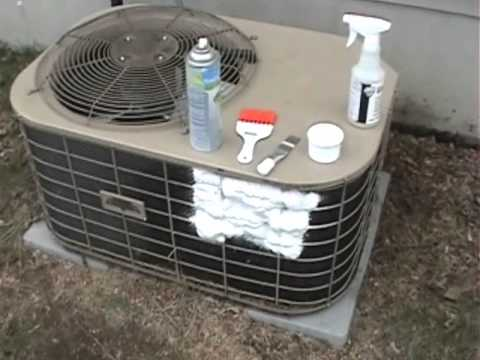 Cleaning Air Conditioner Coils