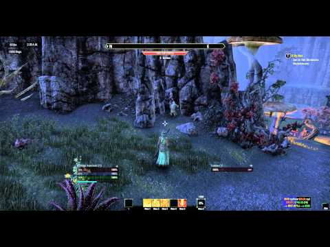 Elder Scrolls Online Teleporting Harvest Bots Part 1/3