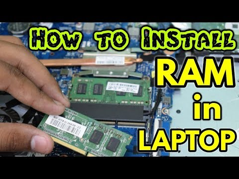 How to Install a RAM in Laptop - HP/DELL/LENEVO (Hindi)