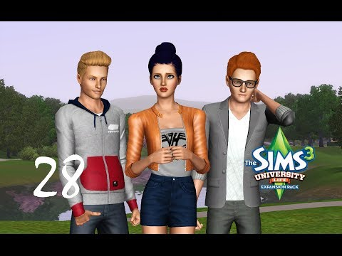 Let's Play the Sims 3 University Life- (Part 28) FORBIDDEN FRUIT PLANTATION! w/ Commentary