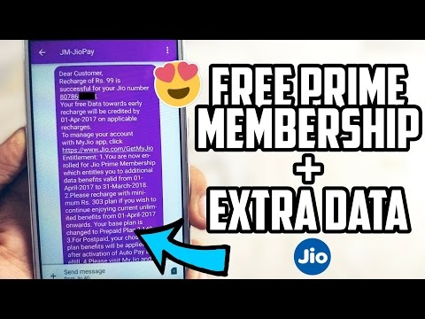 How to Get JIO PRIME Membership FREE + EXTRA FREE DATA FOR 1 YEAR!