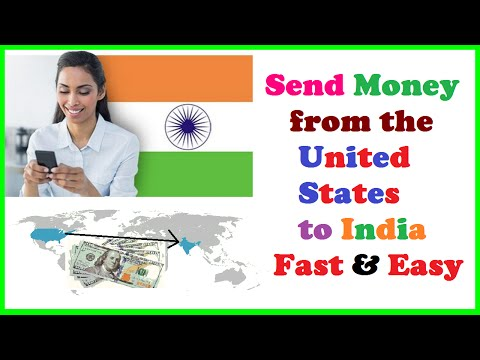 Send Money from the United States to India Easily Anytime, Anywhere