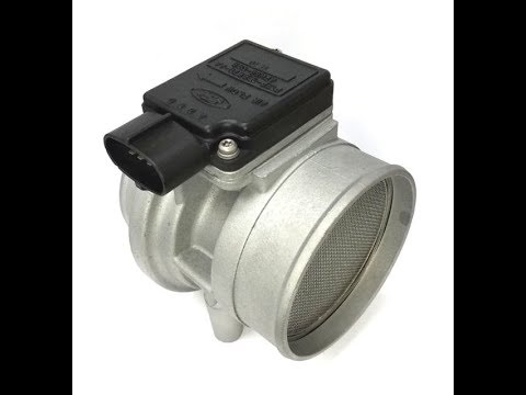 How to clean or replace MAF Mass airflow meter