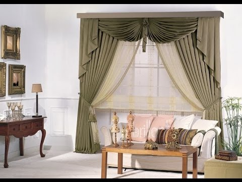 How to make swags and tails curtains(Dly)