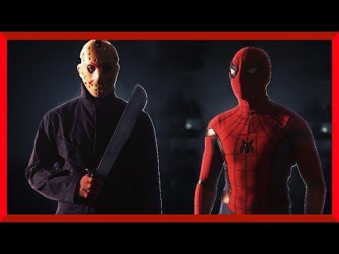 Jason Vs Spiderman | Halloween Special!