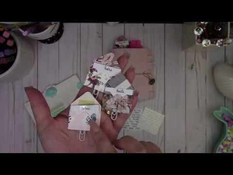 WRMK Mini Envelope Punch Board ~ Mini Envelope Paper Clips