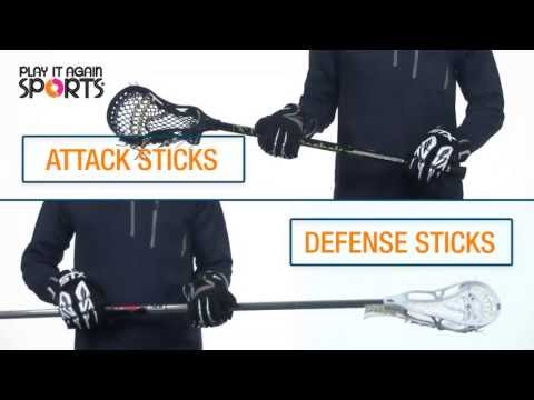 All About Lacrosse Sticks