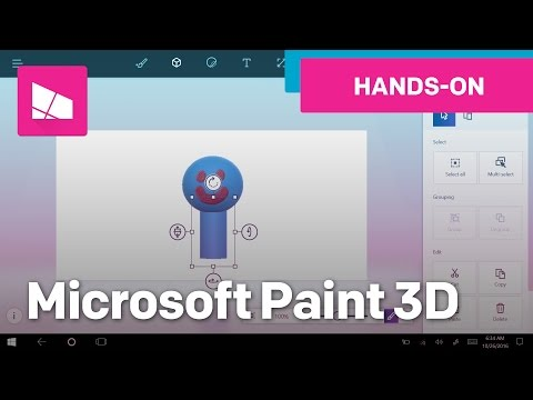 Hands on with Microsoft Paint 3D - The next version of Paint!