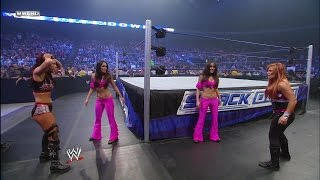 Nikki Bella makes her debut as The Bella Twins
