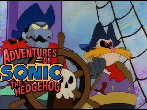Adventures of Sonic the Hedgehog - Black Bot the Pirate | Kids Cartoons | WildBrain Cartoons