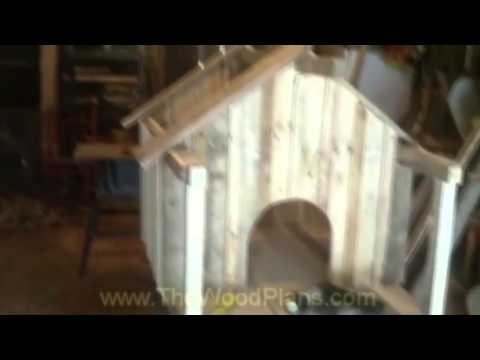 How to Build a Dog House some DIY Dog Kennel build Ideas using Pallets