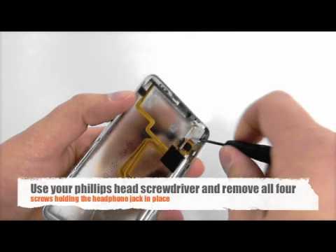 Installing a iPod Video 5th Gen Head phone jack