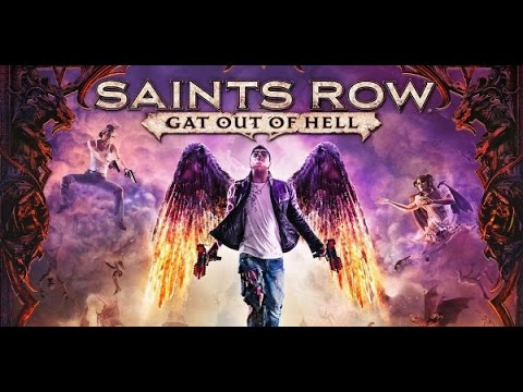 Saints Row 4 Gat Out of Hell all cutscenes GAME