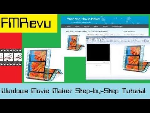2018 Step-by -Step Tutorial Windows 10 Movie Maker | Cut, edit, merge, & trim clips Add music & text