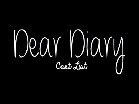 Dear Diary | Cast List
