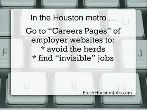 Free Houston Job Finding Tools
