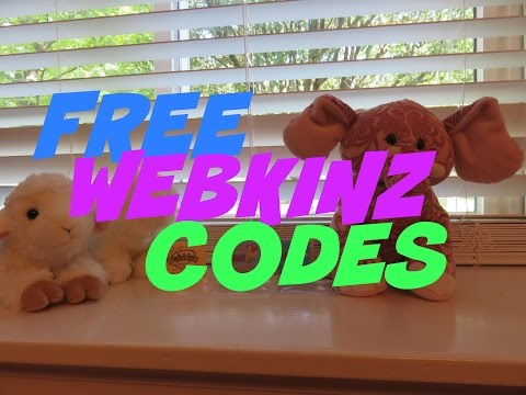 Webkinz Free Code Giveaway!!! #1