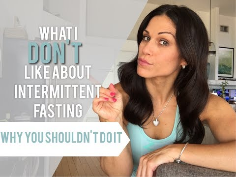 What I DONT Like About Intermittent Fasting & Why You SHOULD NOT Do it!