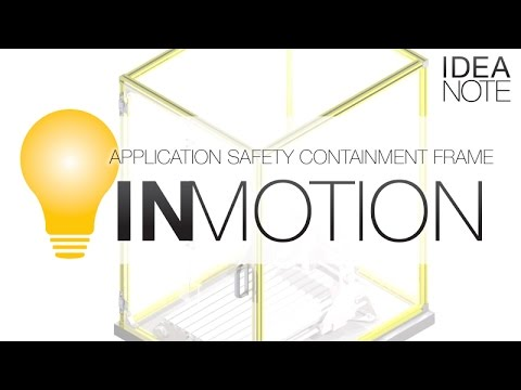 Application Safety Containment Frame | MISUMI InCAD LIBRARY: IN MOTION | MISUMI USA