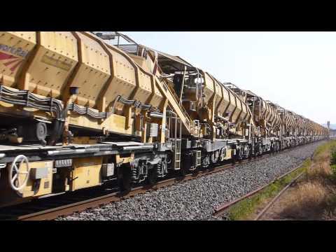66601 TnT 66613,Mega Long HOBC train @ Yatton, Bristol 14-07-13