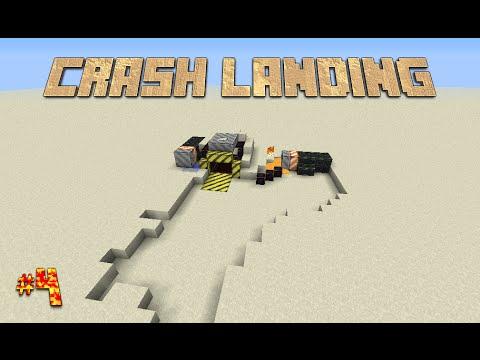Minecraft Modded Survival: Crash Landing: EP 4: Finally a smeltery